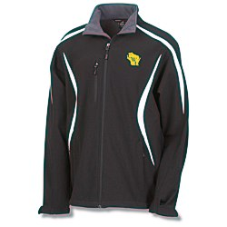 View a larger, more detailed picture of the Color-Block Soft Shell Jacket - Men s