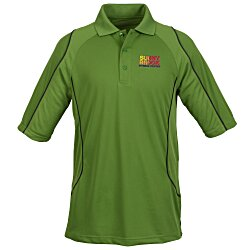 View a larger, more detailed picture of the Extreme Snag Protection Colorblock Polo - Men s