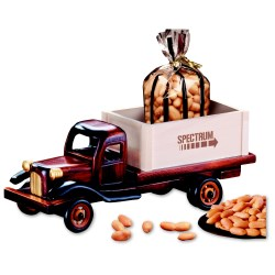 View a larger, more detailed picture of the 1950 s Flat Bed Truck w Peanuts