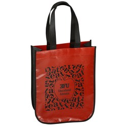 View a larger, more detailed picture of the Eat Lunch Tote Bag - Apple