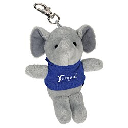 View a larger, more detailed picture of the Wild Bunch Key Tag - Elephant