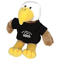 View a larger, more detailed picture of the Mascot Beanie Animal - Eagle