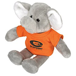 View a larger, more detailed picture of the Mascot Beanie Animal - Elephant