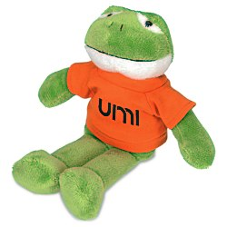 View a larger, more detailed picture of the Mascot Beanie Animal - Frog