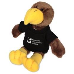 View a larger, more detailed picture of the Mascot Beanie Animal - Hawk