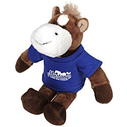 View a larger, more detailed picture of the Mascot Beanie Animal - Horse