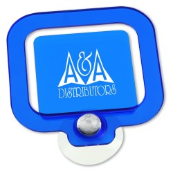 View a larger, more detailed picture of the Note Holder w Suction Cup - Translucent