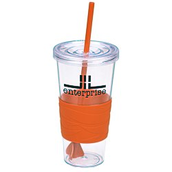 View a larger, more detailed picture of the Revolution Tumbler with Straw - 24 oz - 24 hr