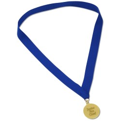 View a larger, more detailed picture of the Medal w Ribbon - 1-1 2 - 2D