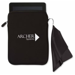 View a larger, more detailed picture of the Tablet Sleeve w Microfiber Cleaning Cloth