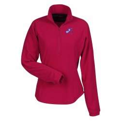 View a larger, more detailed picture of the Realm Textured Microfleece Pullover - Ladies