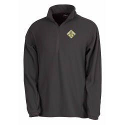 View a larger, more detailed picture of the Horizon Textured Microfleece Pullover - Men s