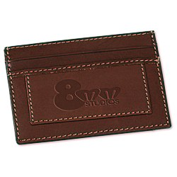 View a larger, more detailed picture of the Leather Card Holder