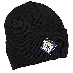 View a larger, more detailed picture of the Bayside USA Made Knit Cuff Beanie