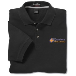 View a larger, more detailed picture of the Ultra Club 100 Cotton Pique Shirt - Men s