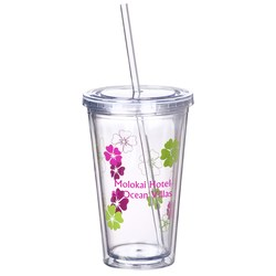 View a larger, more detailed picture of the Spirit Incore Tumbler - 16 oz - Hibiscus