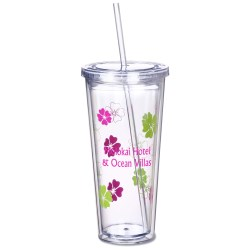 View a larger, more detailed picture of the Spirit Incore Tumbler - 20 oz - Hibiscus