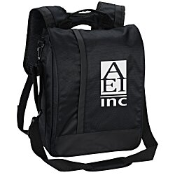 View a larger, more detailed picture of the Vertical Laptop Backpack Brief