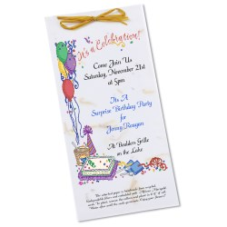 View a larger, more detailed picture of the Seeded Invitation Program - 9 x 4 - Daisy