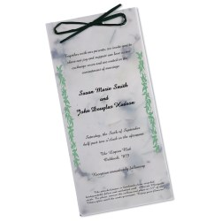 View a larger, more detailed picture of the Seeded Invitation Program - 9 x 4 - Chili Pepper