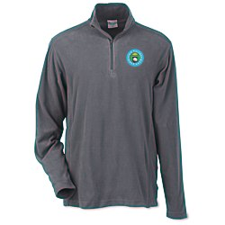View a larger, more detailed picture of the Columbia Crescent Valley 1 4-Zip Pullover - Men s