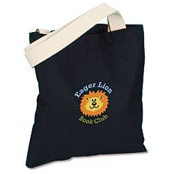 View a larger, more detailed picture of the USA Made Bayside Promotional Tote - Colors - Embroidered