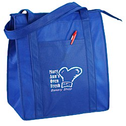 View a larger, more detailed picture of the Value Insulated Grocery Tote - 24 hr