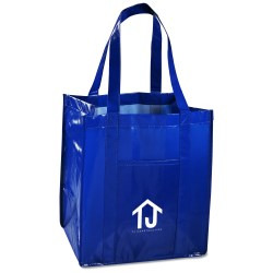 View a larger, more detailed picture of the Athena Laminated Tote - 24 hr