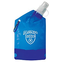 View a larger, more detailed picture of the Baja Sport Bottle Bag - 12 oz - Translucent