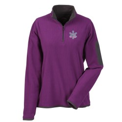 View a larger, more detailed picture of the Juneau 1 4 Zip Micro Fleece - Ladies