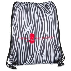 View a larger, more detailed picture of the Designer Drawcord Sportpack - Zebra - 24 hr