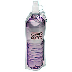 View a larger, more detailed picture of the Hydrate Foldable Sport Bottle - 18 oz