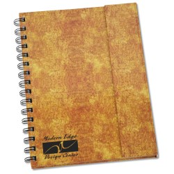 View a larger, more detailed picture of the Faux Leather Magnetic Journal w Pen