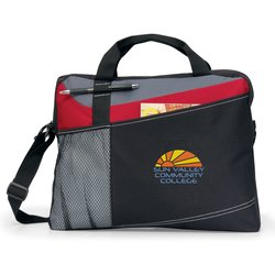 View a larger, more detailed picture of the Velocity Business Bag - Embroidered
