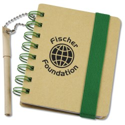 View a larger, more detailed picture of the Bright Line Recycled Jotter w Recycled Pen