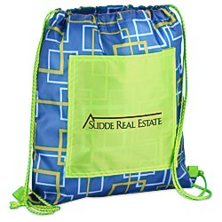 View a larger, more detailed picture of the Printed Insulated Sportpack - Squares