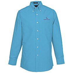 View a larger, more detailed picture of the Ultra Club 60 40 Oxford Dress Shirt - Men s