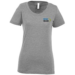View a larger, more detailed picture of the Bella Cameron Tri-Blend T-Shirt - Ladies - Embroidered