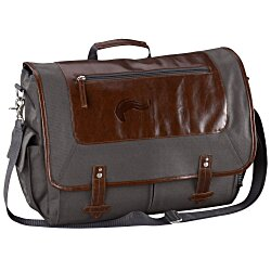 View a larger, more detailed picture of the Field & Co Vintage Laptop Messenger