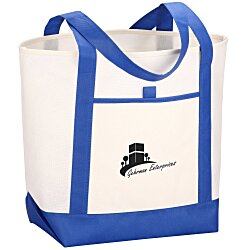View a larger, more detailed picture of the Set Sail Boat Tote