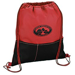 View a larger, more detailed picture of the Patch Pocket Drawstring Sportpack