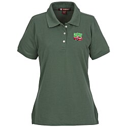 View a larger, more detailed picture of the Harriton 5 6 oz Easy Blend Polo - Ladies - 24 hr