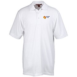 View a larger, more detailed picture of the Harriton 5 6 oz Easy Blend Polo - Men s - 24 hr