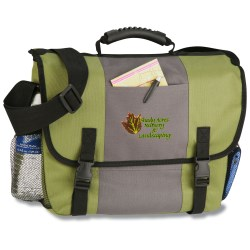 View a larger, more detailed picture of the 4imprint Messenger Bag - Full Color