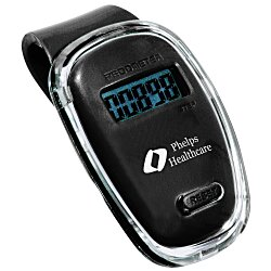 View a larger, more detailed picture of the Fitness First Pedometer - 24 hr