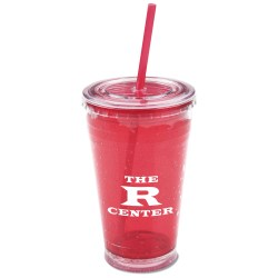 View a larger, more detailed picture of the Cool Gear Chiller Tumbler w Straw - 20 oz