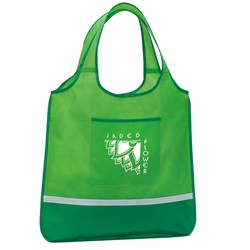 View a larger, more detailed picture of the Expressions Foldaway Shopper - Closeout