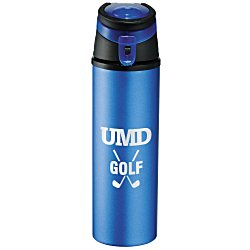 View a larger, more detailed picture of the Sheen Aluminum Sport Bottle - 20 oz