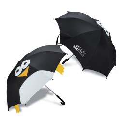 View a larger, more detailed picture of the totes Critter Umbrella - Penguin