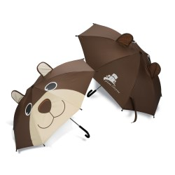 View a larger, more detailed picture of the totes Critter Umbrella - Bear
